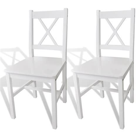 tavola e sedie articoli per sedia da tavola legno 2 pz vidaxl it
