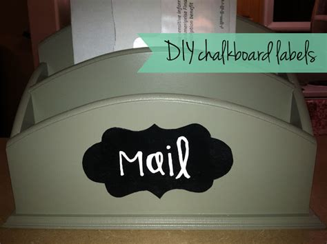 diy chalkboard stickers thrift and craft it diy chalkboard labels