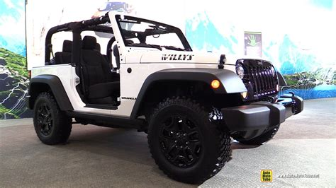 willys jeep interior 2017 jeep willys wheeler exterior and interior