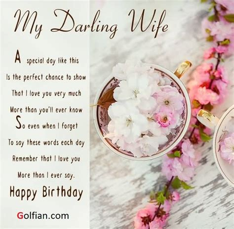 Wishing Happy Birthday To My Lovely 70 Beautiful Birthday Wishes Images For Wife Birthday