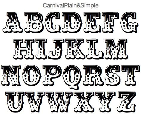 printable carnival fonts artistmike com fonts page 10