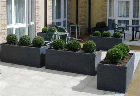 Large Commercial Fiberglass Planters Radionigerialagos Com Large Commercial Planters