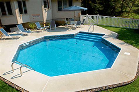 Backyard Pool Products Small Yard Small Pool Spp Inground Pool Kit