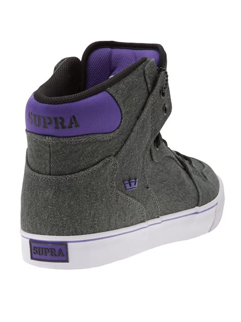 tops for shoes supra high tops in gray for grey lyst