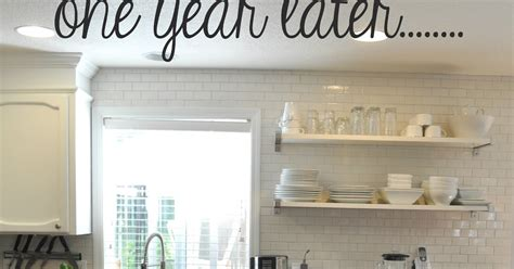 suburbs mama kitchen update one year later white suburbs mama kitchen update one year later white