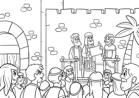 free bible coloring pages ezra between these two book of nehemiah bible
