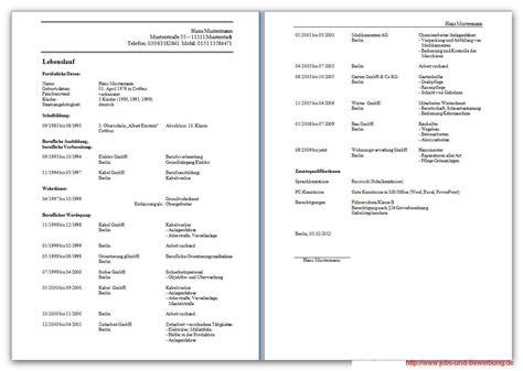 Lebenslauf Vorlage Reihenfolge Lebenslauf Kostenlose Vorlagen Und Hilfreiche Infos