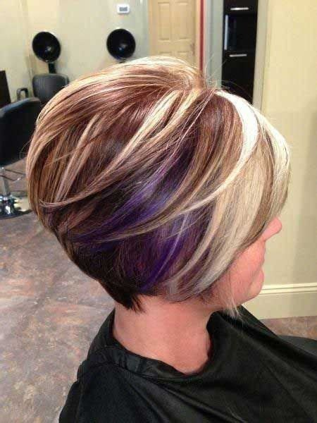 hairstyles and color for over 40 40 top haircuts for women over 40 hot color stack bob