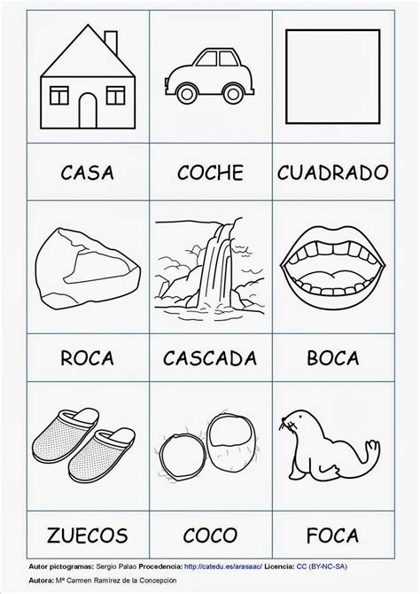 palabras con la letra c c ejemplos de palabras con c programa de il en a temprana fonoaudiologopedia