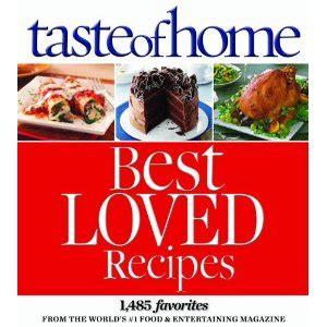 gallery of favorites taste of home best loved recipes