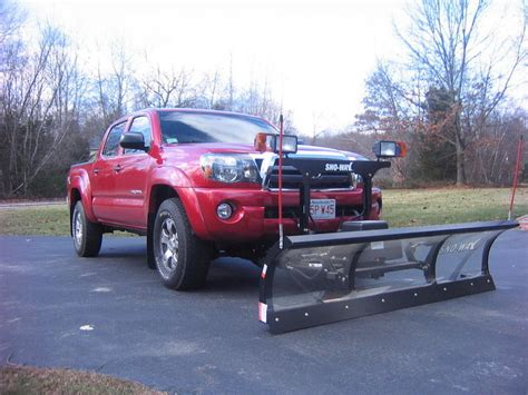 Snow Plow For Toyota Tacoma Snow Plows For Toyota Tacoma Autos Post