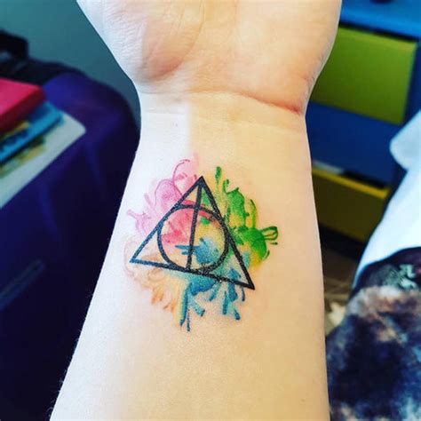 these harry potter tattoos will make you fly straight to