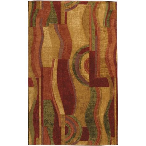 Mohawk Picasso Wine Rug by Mohawk Home Picasso Wine 5 Ft X 8 Ft Area Rug 156916