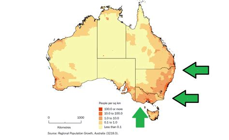 australia population map why s success in australia is almost guaranteed