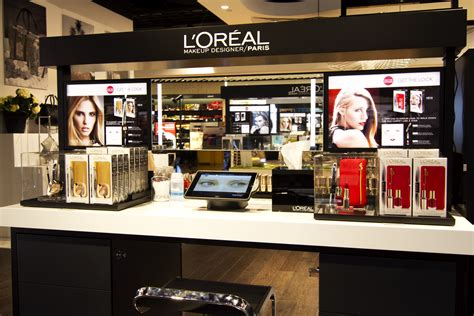 Shoo Loreal l or 233 al and dufry introduce makeupista in stockholm