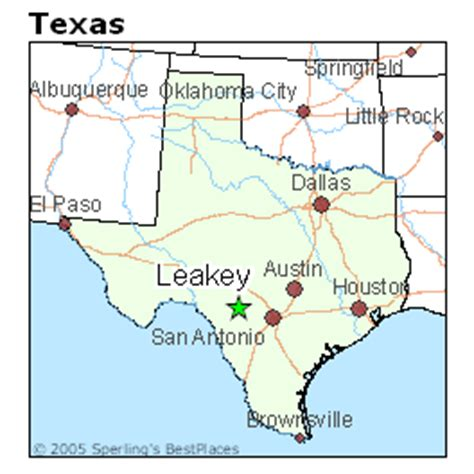 leakey texas map best places to live in leakey texas