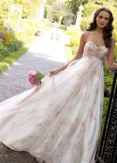 Pink White Wedding Dresses by Pink Wedding Dresses