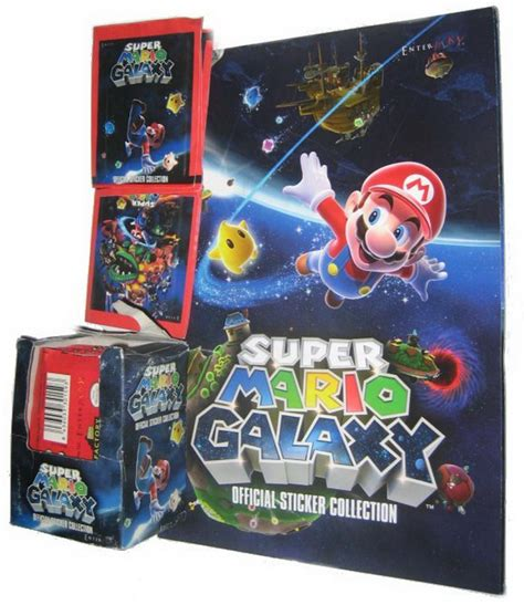mario official sticker book nintendo books nintendo galaxy sticker book w 50 packs of stickers