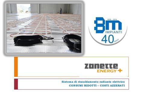 riscaldamento a pavimento elettrico costi riscaldamento radiante a pavimento zanette energy
