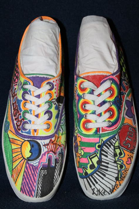 Crafting Handmade Shoes - sharpie shoes search ing