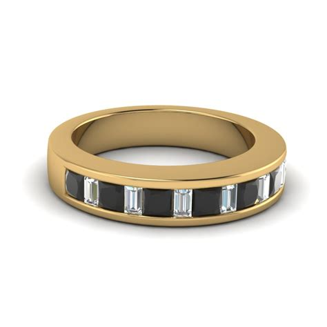wedding bands with baguettes princess cut and baguette wedding bands fascinating diamonds