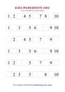 writing numbers 1 10 worksheet laptuoso