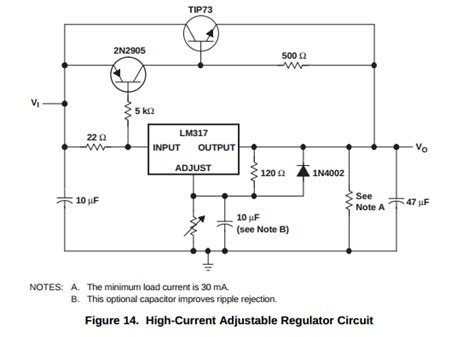 lm317t resistor wattage erage how can i get more s from a voltage regulator electrical engineering stack exchange