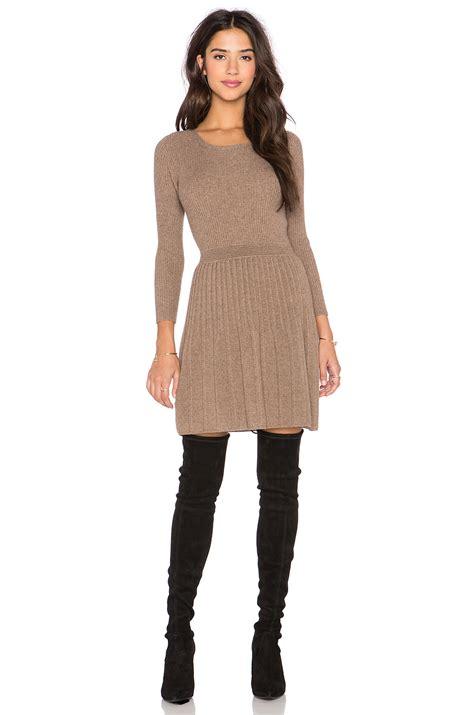 Sweater Dress Ii by Lyst Joie Peronne Sleeve Sweater Dress In Brown