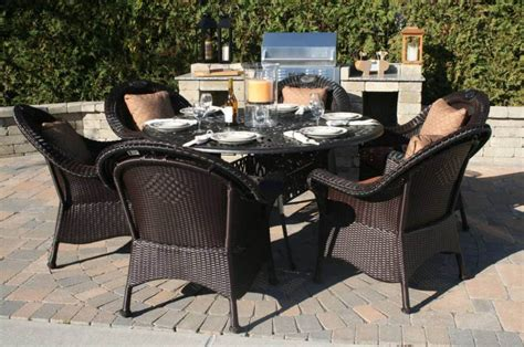 Wicker Patio Dining Set Best Wicker Patio Dining Sets Outdoor Decorations