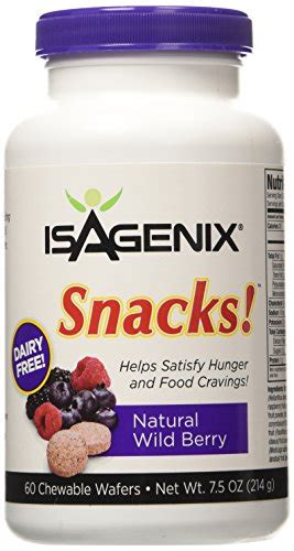 Hyleys Detox Kit Reviews by Isagenix Snacks 60 Berry Chewable Wafers 7