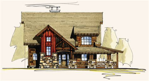birch creek log house plans timber frame home designs