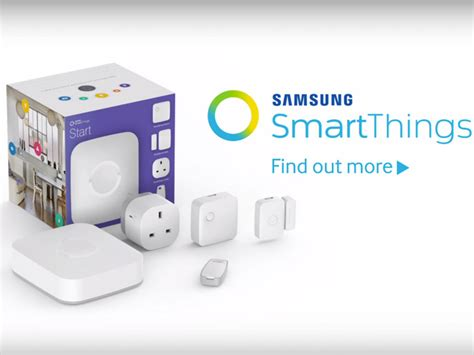 samsung smartthings what can your smart home do
