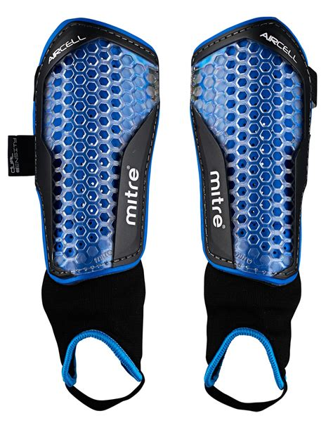 shin pads mitre aircell power shin guards