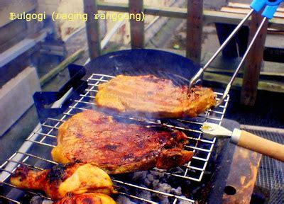 Alat Panggang Kambing Guling resep cur bulgogi daging panggang