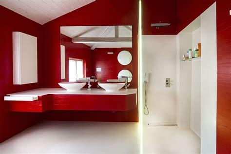 bagni colorati bagni moderni luminosi e colorati falegnameria gasperi