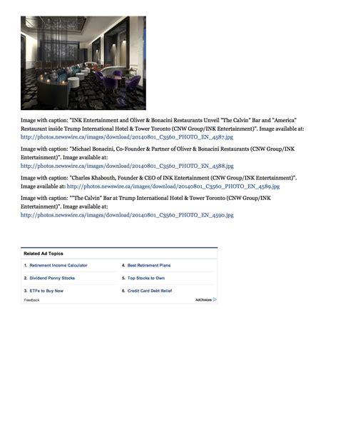 yahoo new layout 2014 yahoo finance trump tower toronto ii by iv design press
