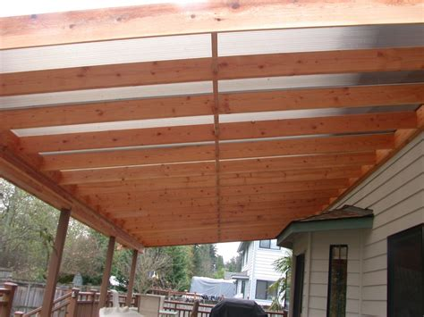 Cover Idea Patio Roof Designs   home improvement