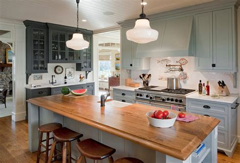 kitchen cabinets painted gray cottage kitchen small shingle beach cottage design