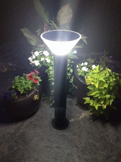 Led Solar Landscape Lighting Ip65 Solar Power Bollard Light Outdoor Bollard Light Garden Led Light Buy Garden Led Light