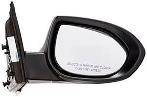 oe replacement mazda mazda6 passenger side mirror outside