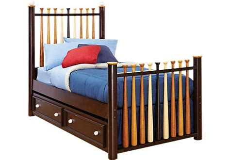 twin bed head rest of the room picture of cherry shop for a batter up bed 3 pc baseball twin bed at rooms