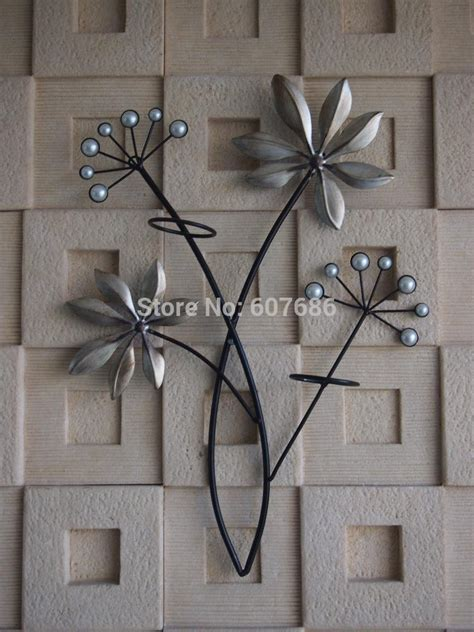metal art decor for home aliexpress com buy 2 pieces vintage iron metal acrylic
