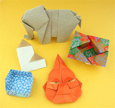 Paper Origami Book - new book intriguing origami crease is the word