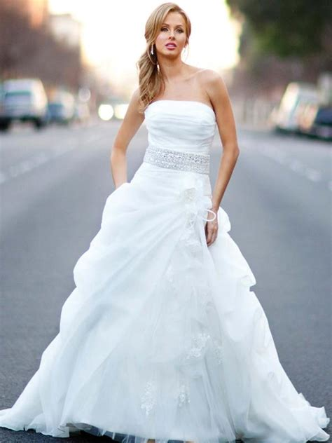 never out date strapless wedding gowns fashion