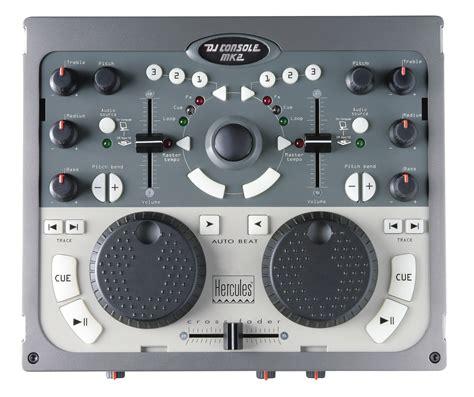 hercules dj console mk2 test de la dj console mk2 dj console 2 232 me prise
