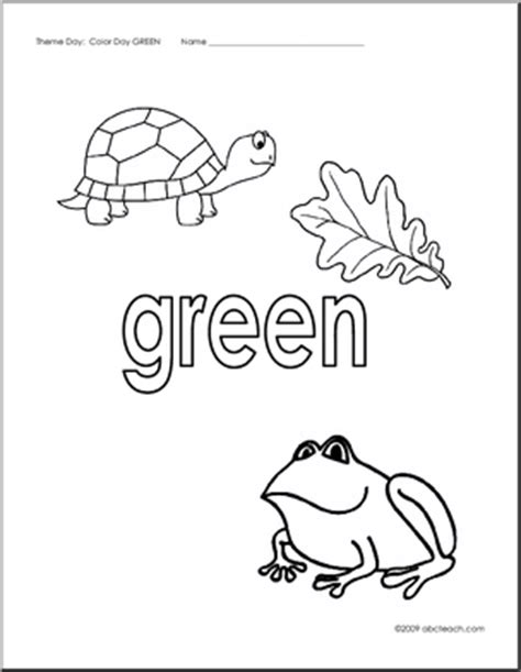 kindergarten color worksheets page 2 new calendar