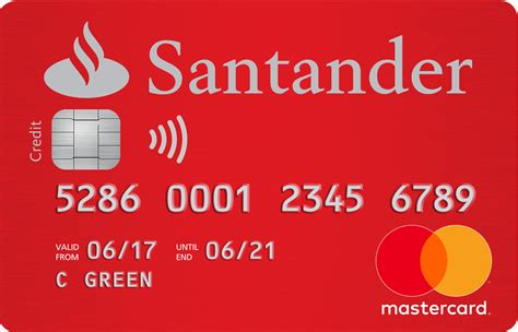 Blank Santander Credit Card Template santander everyday credit card in depth info reviews
