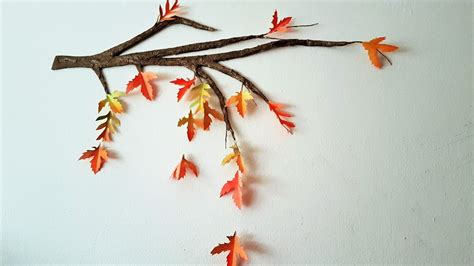 How To Preserve Tree Branches For Decoration by Diy Autumn Fall Tree Branch Room Decor Using Cardboard
