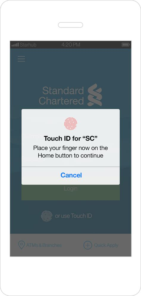 standard chartered bank india banking login fingerprint login standard chartered india