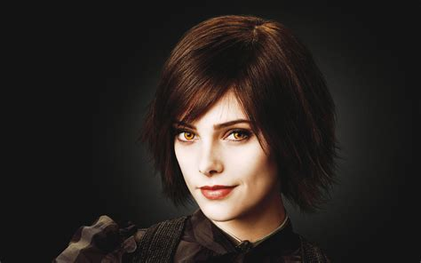 short ha actress alice cullen ashley greene brunettes short ha